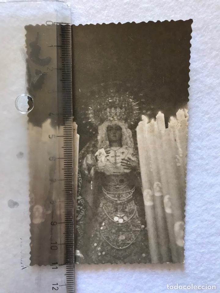 SEMANA SANTA SEVILLA. HERMANDAD DE LA O. MARÍA STMA. DE LA O. AÑOS 60. TRIANA. (Fotografía Antigua - Fotomecánica)
