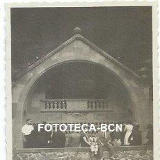 Fotografía antigua: FOTO ORIGINAL SANT HILARI SACALM FONT PICANT AÑO 1932. Lote 164242498