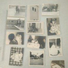 Fotografía antigua: 14 FOTOS BLANCO Y NEGRO DE LOS AÑOS 40-60 VER FOTOS. Lote 164423941