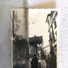Fotografía antigua: SEMANA SANTA SEVILLA. ANTIGUA FOTOGRAFÍA ESPERANZA TRINIDAD.. Lote 164595957