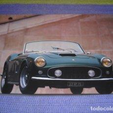 Fotografía antigua: FOTOGRAFIA AUTOMOVIL FERRARI - 45 X 31,5 CMS.. Lote 164916758