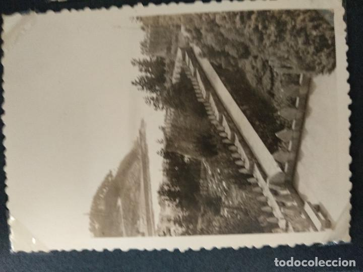Fotografía antigua: LOTE 5 FOTOGRAFIAS DE BAYONA. PONTEVEDRA. GALICIA. AÑO1957. (10cm x 7cm). - Foto 2 - 165058278