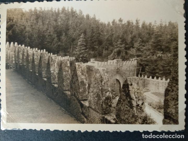 Fotografía antigua: LOTE 5 FOTOGRAFIAS DE BAYONA. PONTEVEDRA. GALICIA. AÑO1957. (10cm x 7cm). - Foto 3 - 165058278
