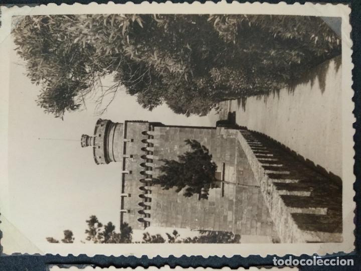Fotografía antigua: LOTE 5 FOTOGRAFIAS DE BAYONA. PONTEVEDRA. GALICIA. AÑO1957. (10cm x 7cm). - Foto 4 - 165058278