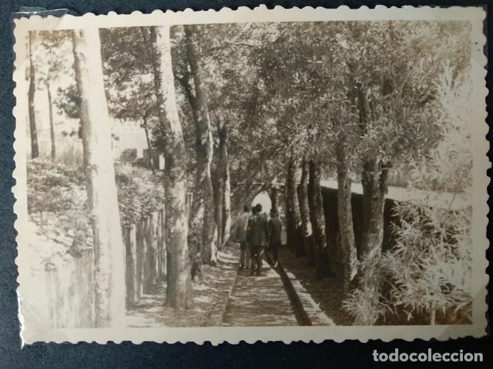Fotografía antigua: LOTE 5 FOTOGRAFIAS DE BAYONA. PONTEVEDRA. GALICIA. AÑO1957. (10cm x 7cm). - Foto 5 - 165058278