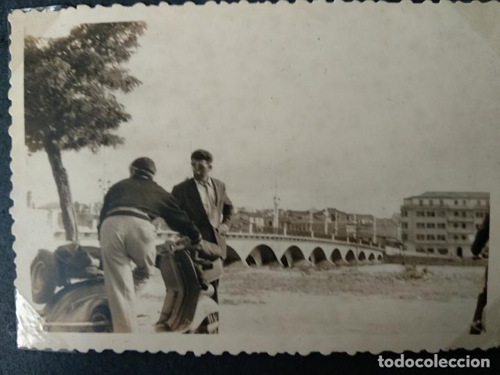 Fotografía antigua: LOTE 5 FOTOGRAFIAS DE BAYONA. PONTEVEDRA. GALICIA. AÑO1957. (10cm x 7cm). - Foto 6 - 165058278