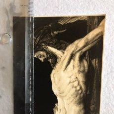 Fotografía antigua: SEMANA SANTA SEVILLA. CRISTO DE LA HERMANDAD DEL CALVARIO.. Lote 165103177