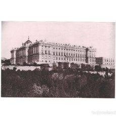 Fotografía antigua: MADRID.- PALACIO REAL. HAUSER Y MENET. COMISARÍA REGIA DEL TURISMO.- 22 X 15. Lote 165308362