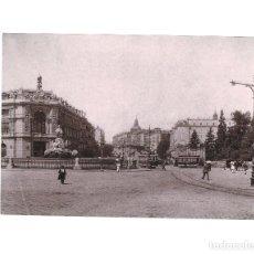 Fotografía antigua: MADRID.- CALLE DE ALCALÁ. HAUSER Y MENET. COMISARÍA REGIA DEL TURISMO.- 21,5 X 15. Lote 165312702