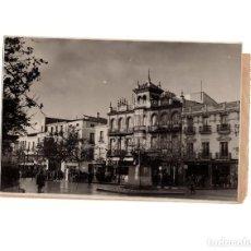 Fotografía antigua: BADAJOZ.- PLAZA DE SAN JUÁN. FOTO PESINI.. Lote 165334334