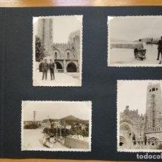 Fotografía antigua: LOTE 4 FOTOGRAFIAS ZONA VIGO... ARCADE... PONTEVEDRA..GALICIA.... AÑO1957. (10CM X 7CM).. Lote 165339230