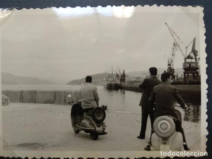 Fotografía antigua: LOTE 4 FOTOGRAFIAS ZONA VIGO... ARCADE... PONTEVEDRA..GALICIA.... AÑO1957. (10cm x 7cm). - Foto 3 - 165339230