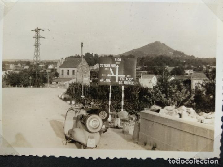 Fotografía antigua: LOTE 4 FOTOGRAFIAS ZONA VIGO... ARCADE... PONTEVEDRA..GALICIA.... AÑO1957. (10cm x 7cm). - Foto 4 - 165339230