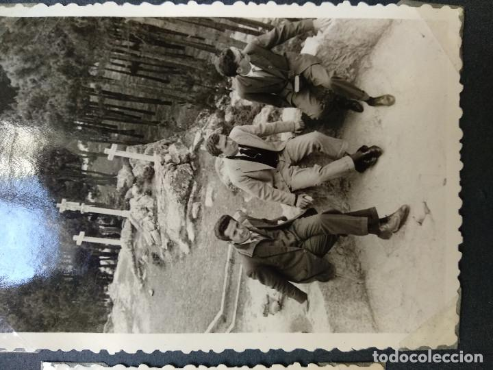 Fotografía antigua: LOTE 5 FOTOGRAFIAS ZONA BAYONA... PONTEVEDRA..GALICIA.... AÑO1957. (10cm x 7cm). - Foto 4 - 165339538