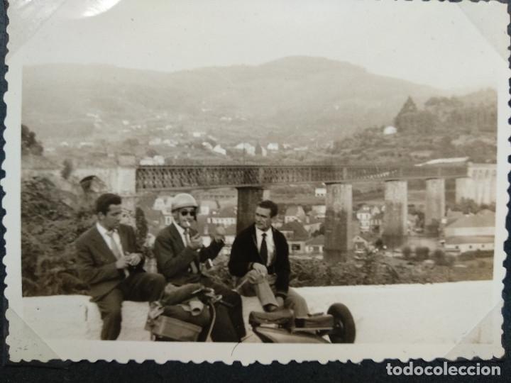 Fotografía antigua: LOTE 5 FOTOGRAFIAS ZONA BAYONA... PONTEVEDRA..GALICIA.... AÑO1957. (10cm x 7cm). - Foto 5 - 165339538