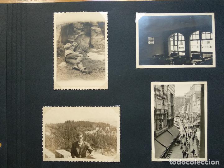 LOTE 4 FOTOGRAFIAS ZONA CORUÑA... GALICIA. AÑO1957. (10CM X 7CM). (Fotografía Antigua - Fotomecánica)