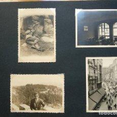 Fotografía antigua: LOTE 4 FOTOGRAFIAS ZONA CORUÑA... GALICIA. AÑO1957. (10CM X 7CM). . Lote 165340098