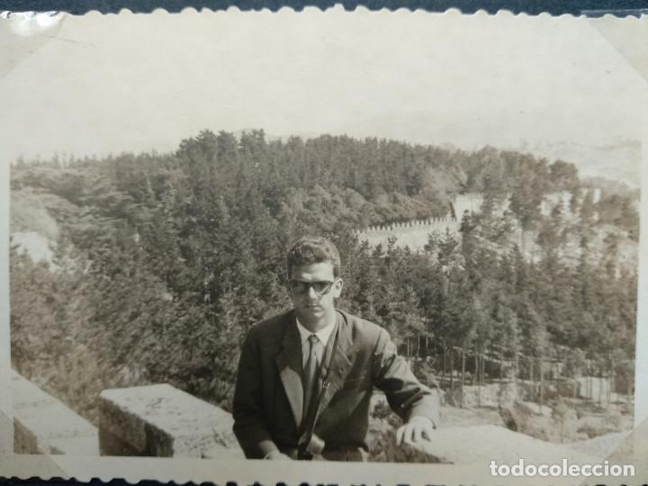 Fotografía antigua: LOTE 4 FOTOGRAFIAS ZONA CORUÑA... GALICIA. AÑO1957. (10cm x 7cm). - Foto 4 - 165340098