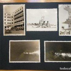 Fotografía antigua: LOTE 5 FOTOGRAFIAS ZONA LA TOJA.. PONTEVEDRA... GALICIA. AÑO1957. (10CM X 7CM).. Lote 165340370