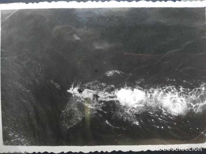 Fotografía antigua: LOTE 5 FOTOGRAFIAS ZONA LA TOJA.. PONTEVEDRA... GALICIA. AÑO1957. (10cm x 7cm). - Foto 6 - 165340370