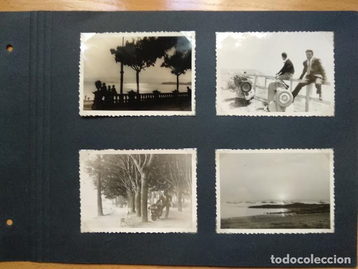 LOTE 4 FOTOGRAFIAS ZONA GALICIA. AÑO 1957. (10CM X 7CM). (Fotografía Antigua - Fotomecánica)