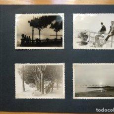 Fotografía antigua: LOTE 4 FOTOGRAFIAS ZONA GALICIA. AÑO 1957. (10CM X 7CM).. Lote 165340846