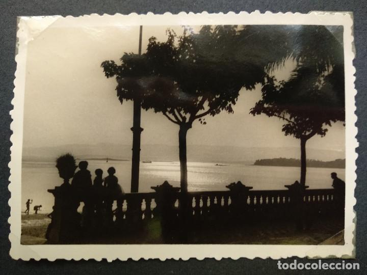 Fotografía antigua: LOTE 4 FOTOGRAFIAS ZONA GALICIA. AÑO 1957. (10cm x 7cm). - Foto 2 - 165340846
