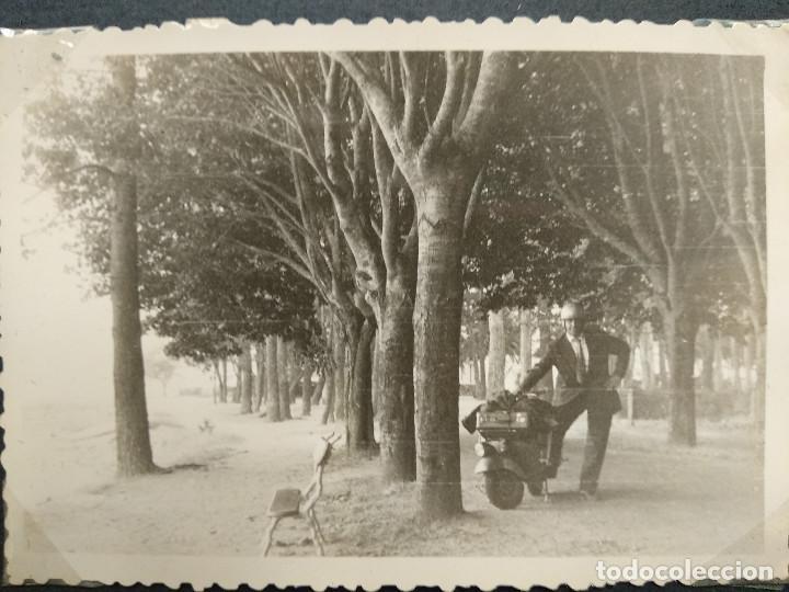 Fotografía antigua: LOTE 4 FOTOGRAFIAS ZONA GALICIA. AÑO 1957. (10cm x 7cm). - Foto 4 - 165340846