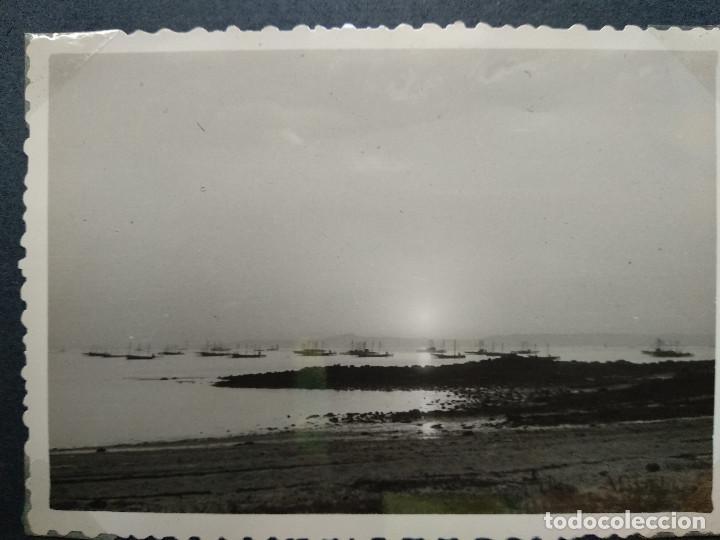 Fotografía antigua: LOTE 4 FOTOGRAFIAS ZONA GALICIA. AÑO 1957. (10cm x 7cm). - Foto 5 - 165340846