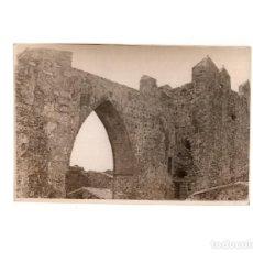 Fotografía antigua: ALBURQUERQUE.(BADAJOZ).- CASTILLO 11,5 X 17 CM. Lote 165357630