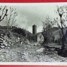 Fotografía antigua: FOTOGRAFÍA SANT CLIMENT DE TAÜLL. VALL DE BOÍ. AÑO 1963.. Lote 165618318