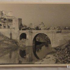 Fotografía antigua - ANTIGUA FOTOGRAFIA.PUENTE DE ALCANTARA.TOLEDO.AÑOS 50 - 165688118
