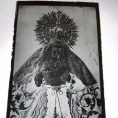 Fotografía antigua: JEREZ CADIZ NTRA SRA DE LA ESPERANZA ANTIGUO CLICHE NEGATIVO EN CRISTAL. Lote 165691082