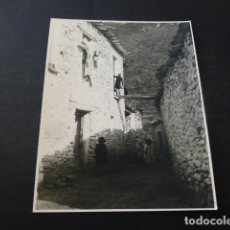 Fotografía antigua: TREVELEZ GRANADA LAS ALPUJARRA FOTOGRAFIA AL CARBON 1954 POR ROBERT GILLON PRESIDENTE SENADO BELGICA. Lote 165748098