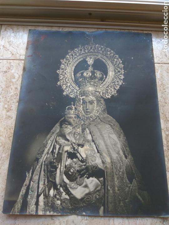VIRGEN DEL MAR ALMERÍA FOTO GUERRY GRAN TAMAÑO 40X30 CMS. (Fotografía Antigua - Fotomecánica)