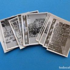 Fotografía antigua: ALCOY, ALICANTE - 19 FOTOGRAFIAS MOROS Y CRISTIANOS Y VISTAS DE LA CIUDAD - AÑOS 1950. Lote 166182370