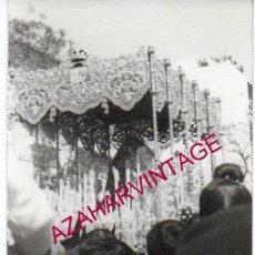 Fotografía antigua: SEMANA SANTA SEVILLA, AÑOS 70, LA ESPERANZA MACARENA, 75X105MM. Lote 166379450