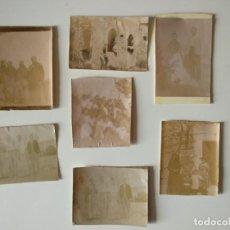 Fotografía antigua: LOTE FOTOGRAFIAS ORIGINALES MUY ANTIGUAS, MALLORCA. Lote 166412230