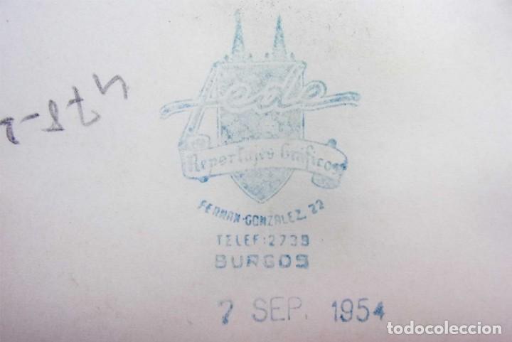 Fotografía antigua: BURGOS. 7 FOTOS. BAILES EN TRAJE REGIONAL. GUARDIA CIVIL. AÑO: 1954. FOTO FEDE. BUEN ESTADO. - Foto 5 - 166748182