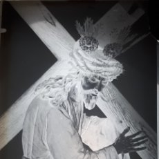 Fotografía antigua: ANTIGUO CLICHÉ DE NUESTRO PADRE JESÚS NAZARENO OSUNA SEVILLA NEGATIVO CRISTAL . Lote 167067264