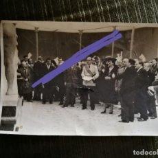 Fotografía antigua: FOTOGRAFÍA DE FRANCISCO FRANCO Y CARMEN POLO. FOTÓGRAFO ARACIL. MADRID. FOTO. Lote 167097108