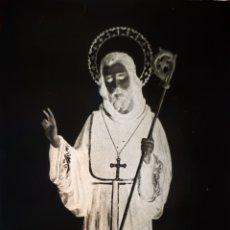 Fotografía antigua: ANTIGUO CLICHÉ DE SAN PAULINO BARBATE CADIZ NEGATIVO EN CRISTAL. Lote 167183864