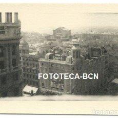 Fotografía antigua: FOTO ORIGINAL MADRID VISTA DEL CINE CALLAO AÑOS 50. Lote 167593944