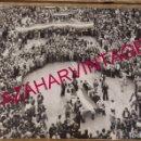 Fotografía antigua: SEVILLA, MANIFESTACION 4 DICIEMBRE 1977, PRO AUTONOMIA, 168X120MM. Lote 168088760
