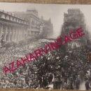 Fotografía antigua: SEVILLA, MANIFESTACION 4 DICIEMBRE 1977, PRO AUTONOMIA, 170X100MM. Lote 168088972