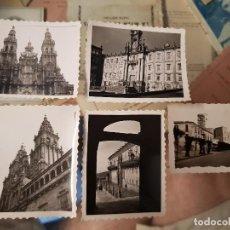 Fotografía antigua: ANTIGUAS FOTOGRAFIAS PEQUEÑO FORMATO SANTIAGO DE COMPOSTELA . Lote 168480084