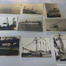 Fotografía antigua: FOTOS ANTIGUAS PUERTO DE ALMERÍA LOTE DE 9 VER FOTOS Y DESCRIPCIÓN. Lote 168498221