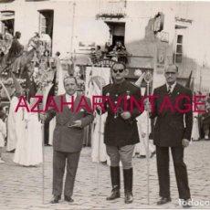 Fotografía antigua: SEMANA SANTA JAEN, AÑOS 50, LA BORRIQUILLA, JERARCA DE FALANGE, 105X75MM. Lote 168498276