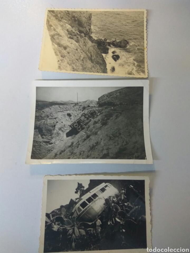 FOTOS ANTIGUAS ALMERÍA ACCIDENTES VEHÍCULOS, CAÑARETE,CHUMBERAS.... (Fotografía Antigua - Fotomecánica)