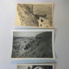 Fotografía antigua: FOTOS ANTIGUAS ALMERÍA ACCIDENTES VEHÍCULOS, CAÑARETE,CHUMBERAS..... Lote 168501201
